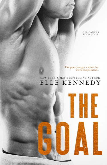 Cover Reveal: The Goal (Off-Campus #4) by Elle Kennedy