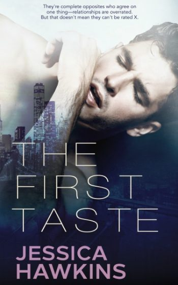 Cover Re-Reveal: The First Taste (Slip of the Tongue #2) by Jessica Hawkins