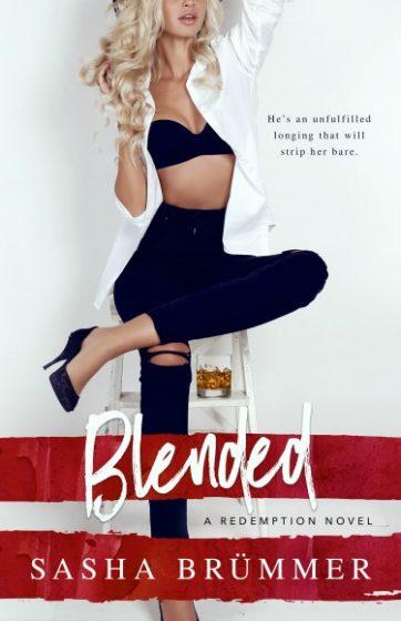 Cover Reveal + Giveaway: Blended (Redemption #1) by Sasha Brümmer