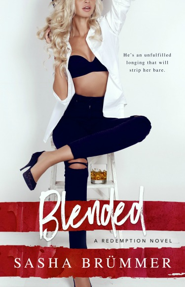 Cover Reveal + Giveaway: Blended (Redemption #1) by Sasha Brümmer