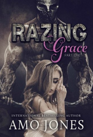 Cover Reveal: Razing Grace (The Devil's Own #3) by Amo Jones