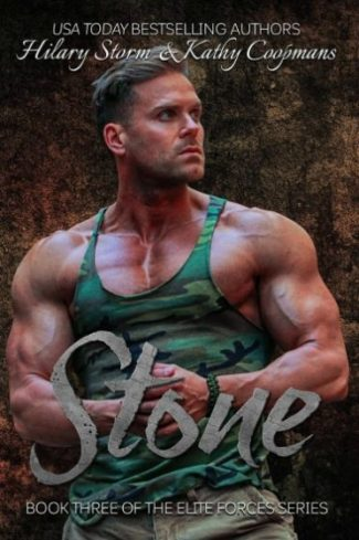 Release Day Blitz: Stone (Elite Forces #3) by Hilary Storm & Kathy Coopmans