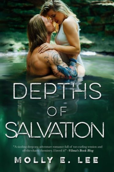 Release Day Blitz + Giveaway: Depths of Salvation (Love on the Edge #3) by Molly E Lee