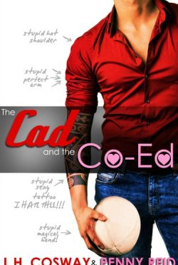Cover Reveal + Giveaway: The Cad and the Co-ed (Rugby #3) by LH Cosway + Penny Reid