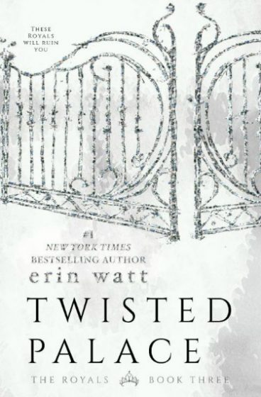 Cover Reveal: Twisted Palace (The Royals #3) by Erin Watt