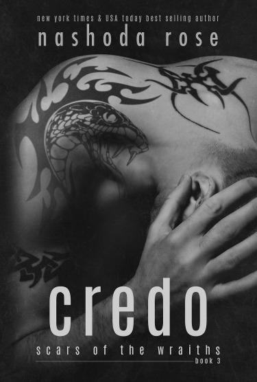 Cover Reveal + Pre-Order Blitz: Credo (Scars of the Wraiths #3) by Nashoda Rose