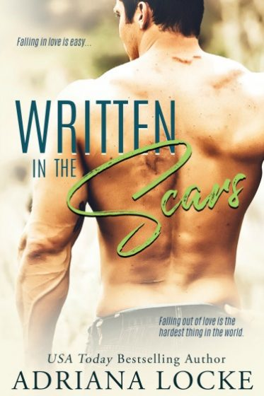 Cover Reveal + Giveaway: Written in the Scars by Adriana Locke