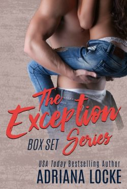 Cover Re-Reveal: The Exception Series (The Exception #1-2) by Adriana Locke