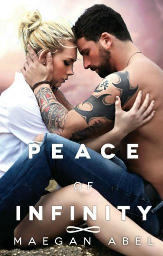 Cover Reveal: Peace of Infinity by Maegan Abel