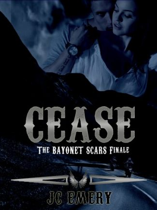 Cover Reveal: Cease (Bayonet Scars #7) by JC Emery