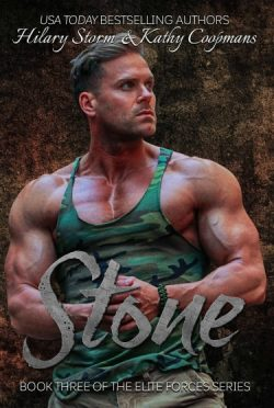 Cover Reveal: Stone (Elite Forces #3) by Hilary Storm & Kathy Coopmans