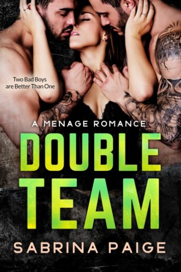 Cover Reveal: Double Team by Sabrina Paige