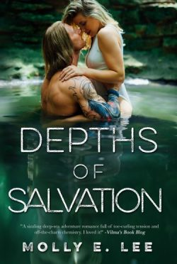 Cover Reveal + Giveaway: Depths of Salvation (Love on the Edge #3) by Molly E Lee