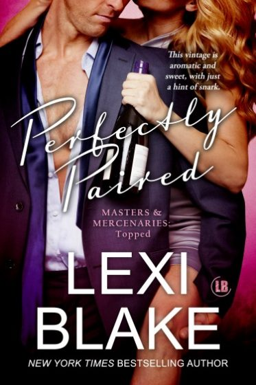 Cover Reveal: Perfectly Paired (Masters and Mercenaries #12.5) by Lexi Blake