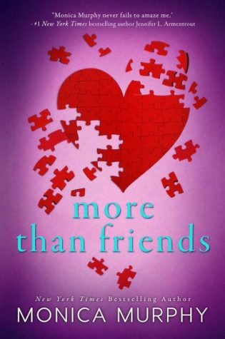Cover Reveal: More Than Friends (Friends #2) by Monica Murphy