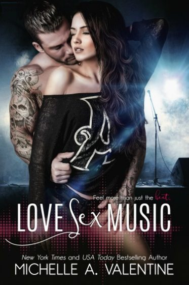 Cover Reveal: Love, Sex, Music by Michelle A Valentine