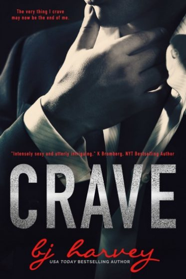 Cover Re-Reveal + Giveaway: Crave by BJ Harvey