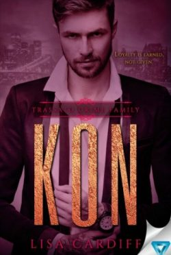 Release Day Blitz + Giveaway: Kon (Trassato Crime Family #2) by Lisa Cardiff