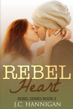 Cover Reveal: Rebel Heart (Rebel #2) by JC Hannigan