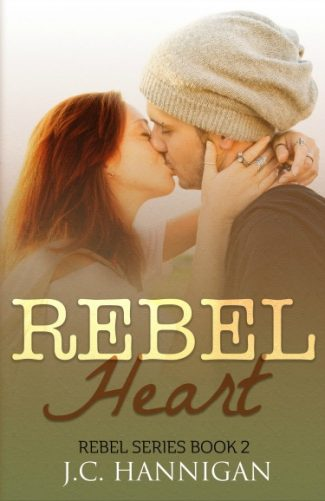 Cover Reveal: Rebel Heart (Rebel #2) by JC Hannigan