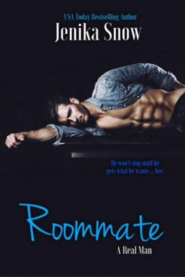 Release Day Blitz: Roommate (A Real Man #5) by Jenika Snow
