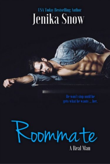 Cover Reveal: Roommate (A Real Man #5) by Jenika Snow