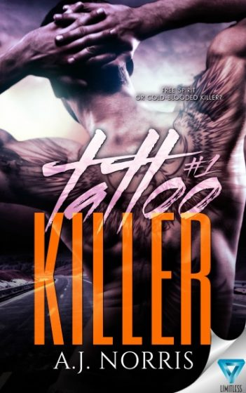 Cover Reveal: Tattoo Killer (Tattoo Crimes #1) by AJ Norris