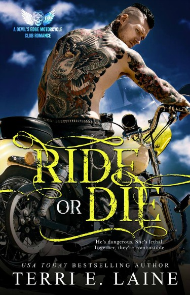 Cover Reveal: Ride or Die (Devil's Edge MC #1) by Terri E Laine