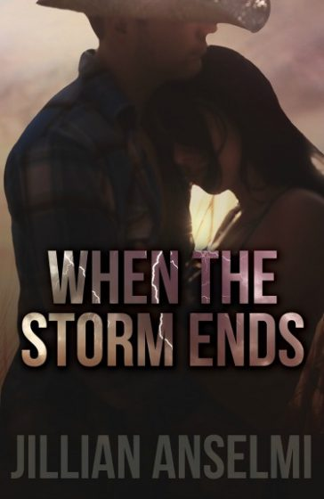 Cover Reveal: When the Storm Ends by Jillian Anselmi