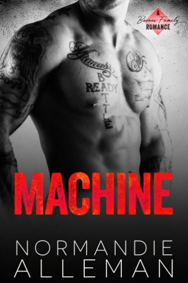 Release Day Blitz + Giveaway: Machine (Barnes Family #2) by Normandie Alleman