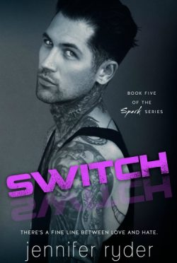 Cover Re-Reveal + Giveaway: Switch (Spark #5) by Jennifer Ryder