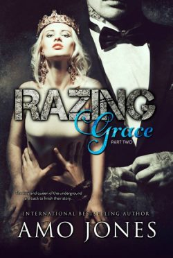 Cover Reveal: Razing Grace: Part Two (The Devil's Own #4) by Amo Jones