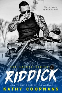 Cover Reveal: Riddick (The Saints #1) by Kathy Coopmans