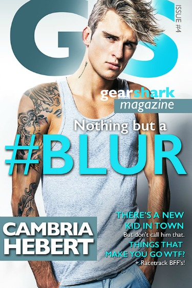 Cover Reveal: #Blur (GearShark #4) by Cambria Hebert