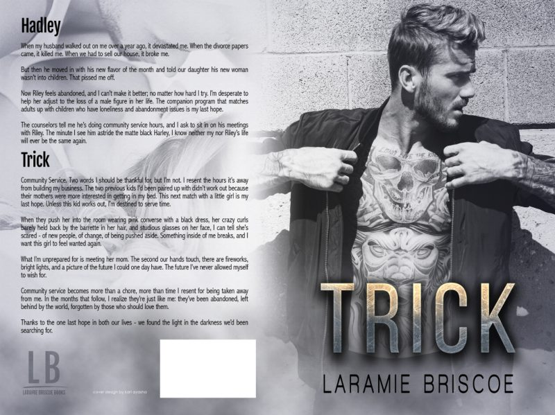Cover Reveal Trick By Laramie Briscoe Books To Breathe