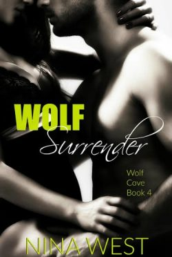 Cover Reveal: Wolf Surrender (Wolf Cove #4) by Nina West