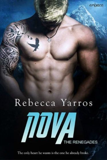 Cover Reveal: Nova (The Renegades #2) by Rebecca Yarros