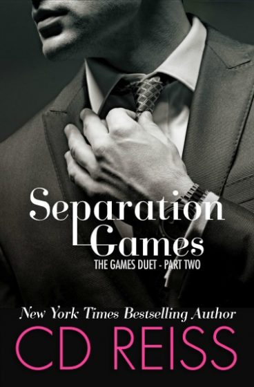 Cover Reveal: Separation Games (The Games Duet #2) by CD Reiss