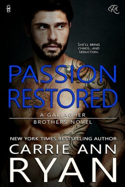 Cover Reveal: Passion Restored (Gallagher Brothers #2) by Carrie Ann Ryan