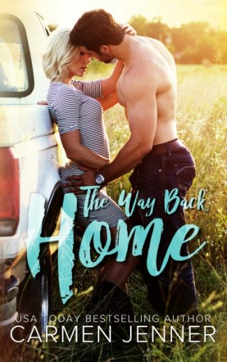 Cover Reveal: The Way Back Home by Carmen Jenner