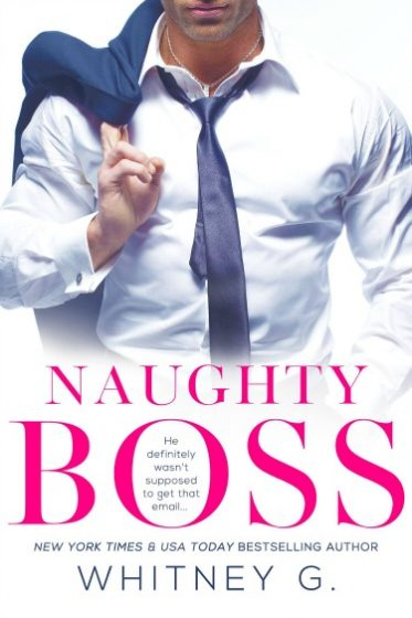 Cover Reveal: Naughty Boss by Whitney G