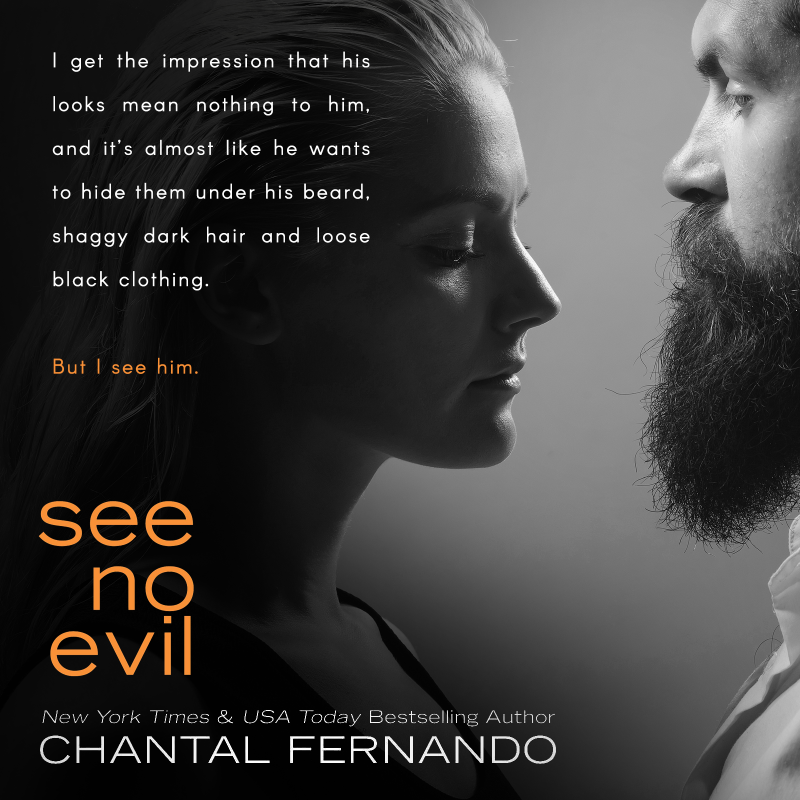 Release Day Blitz See No Evil See No Evil 1 By Chantal Fernando