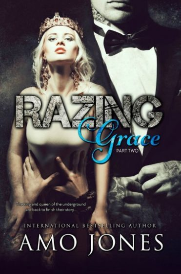 Release Day Blitz: Razing Grace: Part Two (The Devil's Own #4) by Amo Jones