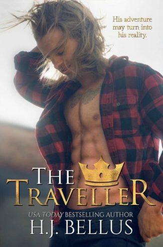 Cover Reveal: The Traveller (Royal Atlas #3) by HJ Bellus