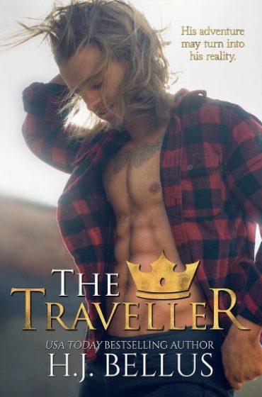Cover Reveal: The Traveller (Royal Atlas #3) by HJ Bellus