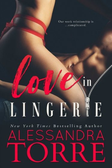 Cover Reveal: Love in Lingerie by Alessandra Torre