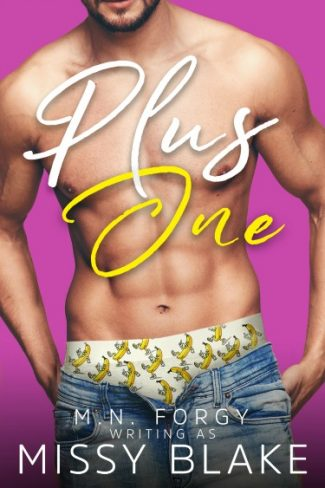 Cover Reveal & Giveaway: Plus One by MN Forgy (writing as) Missy Blake