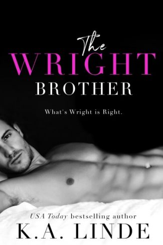 Cover Reveal: The Wright Brother by KA Linde