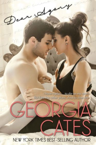 Cover Reveal & Giveaway: Dear Agony by Georgia Cates