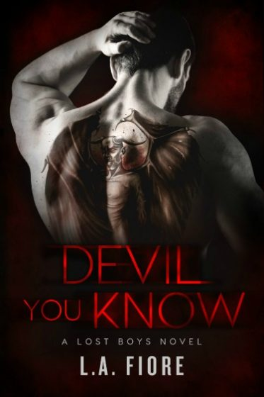 Cover Reveal: Devil You Know by LA Fiore